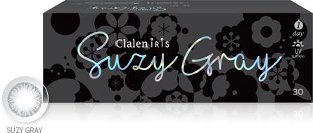 Clalen 1Day iris SuzyGray